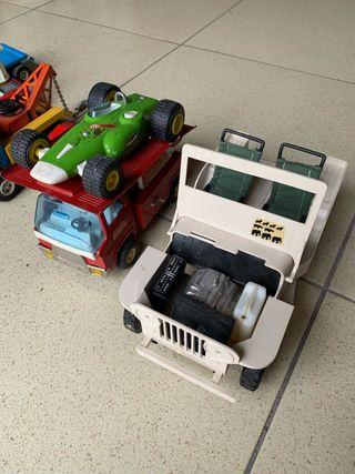 Jeep madelman y juguetes antiguos