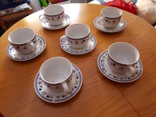 Tazas de desayuno porcelana