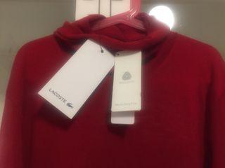 Jersey Lacoste color rojo