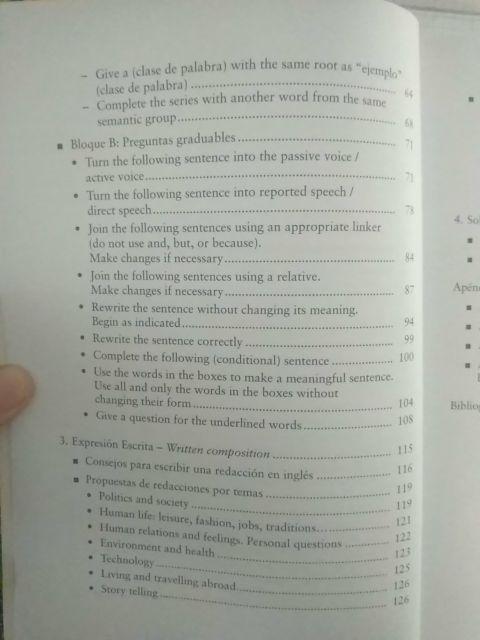 Libro Inglés para la PAU fácil