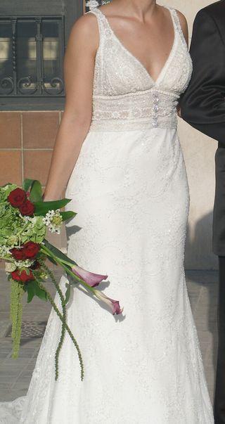 Vestido de novia de Yolan Cris