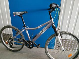 bicicleta junior de 24 pulgadas