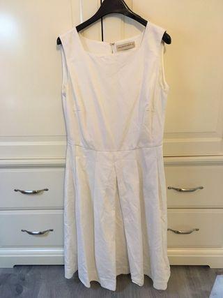 Vestido Blanco Purificación García