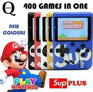 consola retro 400 videojuegos a estrenar