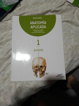 libro anatomía aplicada