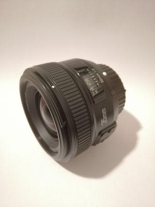 Objetivo Yognuo 35mm f2 - Nikon