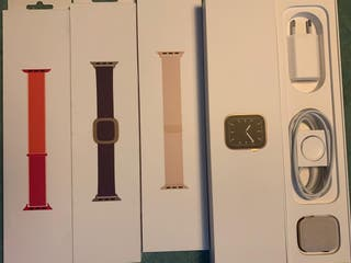 Apple watch serie 5 gold 40 mm