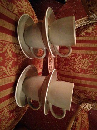 4 tazas taza desayuno nuevas cocina