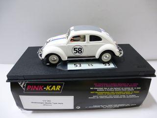 VW HERBIE NUEVO PINK CAR