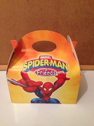 Cajitas Spiderman