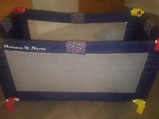 Cuna de viaje+colchón de Jané