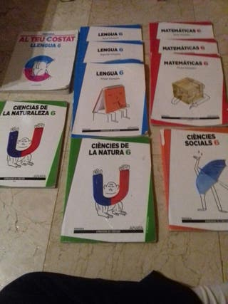 LIBROS DE TEXTO 6 PRIMARIA EDITORIAL ANAYA