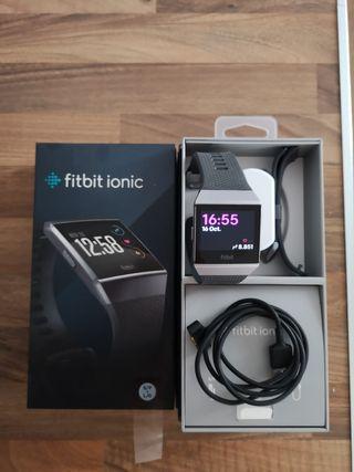 fitbit Ionic gris/carbón