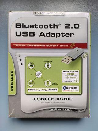 Adaptador USB para Bluetooth (con drivers)