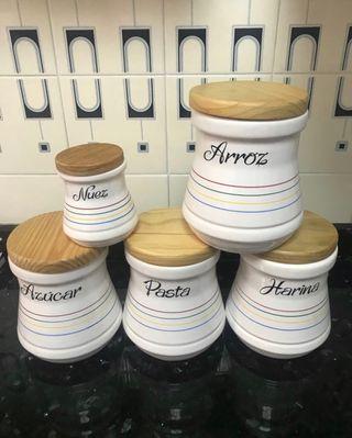 Tarros cocina ceràmica