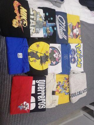 camisetas verano niño