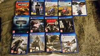 PLAYSTATION 4 PS4 LOTE JUEGOS