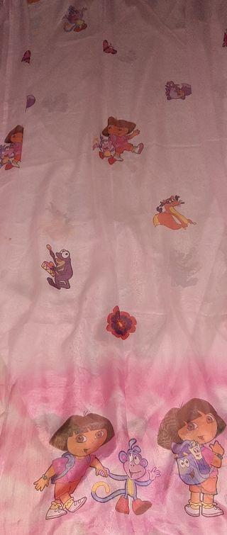 Edredón y cortina infantil