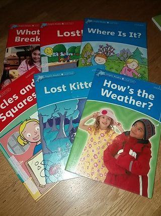 6 libros lectura iniciación ingles