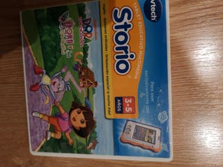 videojuego Dora la exploradora para Storio