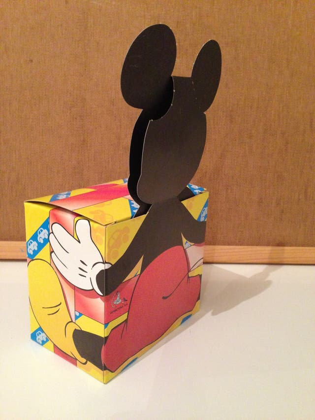 Cajitas Mickey Mouse