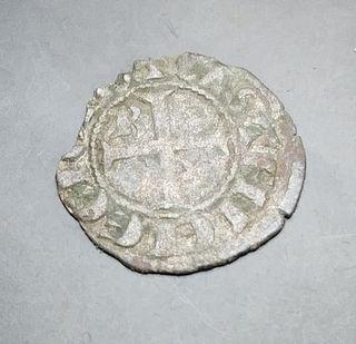 MONEDA SANCHO IV SEISEN BURGOS 1284 / 1295 - MB