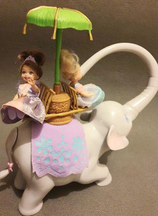 elefante Tika Barbie1999 especial coleccionistas