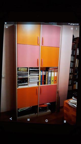 habitación juvenil libreria