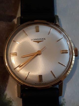 antiguo reloj cuerda LONGINES como nuevo
