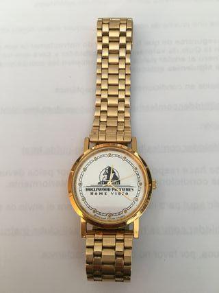 Reloj caballero/señora chapado con correa chapada