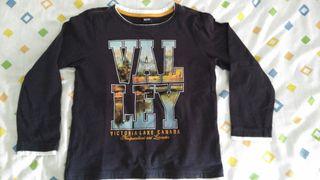 camiseta Valley El corte inglés niño 7-8 años