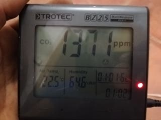 Medidor co2 trotec bz25.