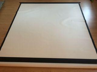 Pantalla de proyección manual - 234x 224
