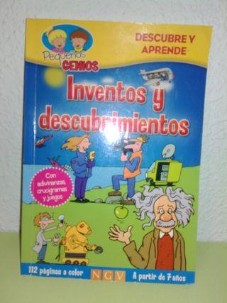 Libro para niños de los inventos y descubrimientos