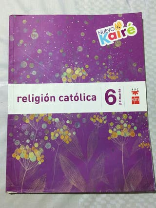 libro religión católica 6 de primaria