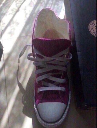 Zapatillas Converse rosa mujer