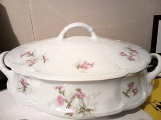 Sopera porcelana francesa de Limoges