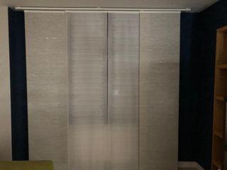 Paneles japoneses Ikea