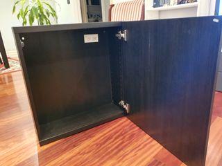 Mueble auxiliar armario besta ikea con puertas