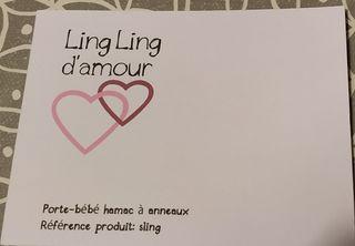 Bandolera portabebé Ling Ling d'amour