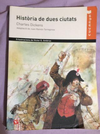 Libro Història se dues ciutats - Charles Dickens