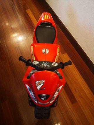 moto niño aparti de 2 a 7 anos