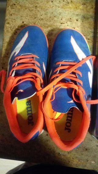 botas niño futbol sala talla 35 joma