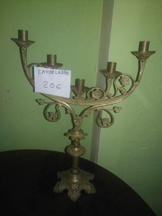 objetos antiguos de bronce