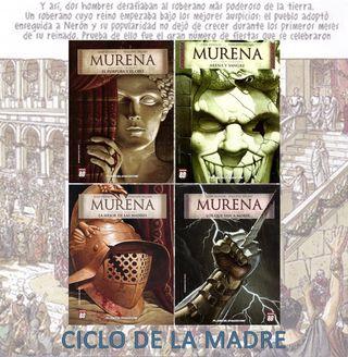 MURENA - NERÓN - Historia Roma - novela gráfica