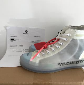 Converse x off white chuck taylor