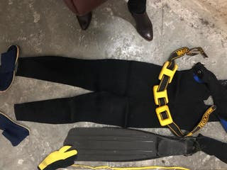 traje buceo completo