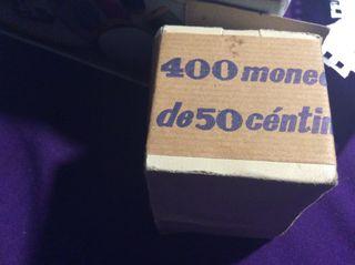 400 Monedas de 50 cts año 1966, estrella 73