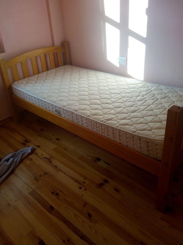 Se vende cama indivudual
