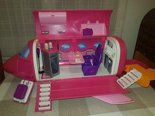 Avión Barbie